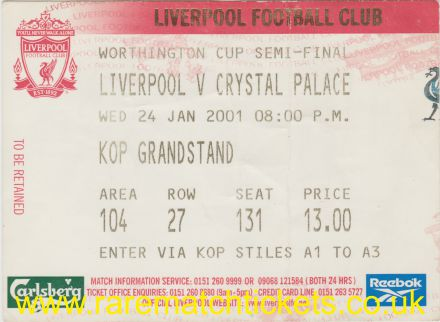 2000-01 lc sf 2nd LIVERPOOL 5 CRYSTAL PALACE 0 [kop]